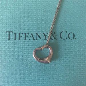 Tiffany & Co. Jewelry - Tiffany & Co. Elsa Peretti Open Heart Necklace